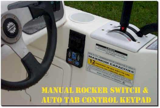 Rocker Switch and older Auto Tab Control - Bennett Marine